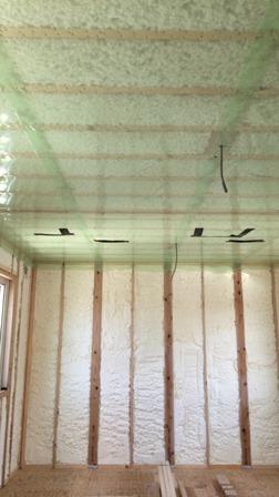 天井断熱工事