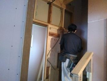 階段・枠取合い造作