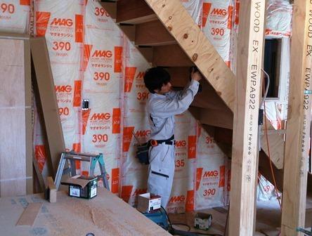階段施工 (2)