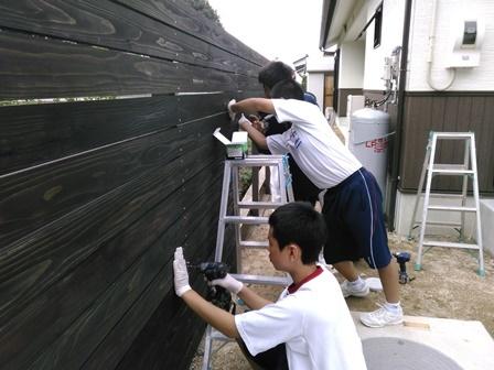 板塀 (2)