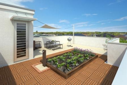 屋上庭園 (1)