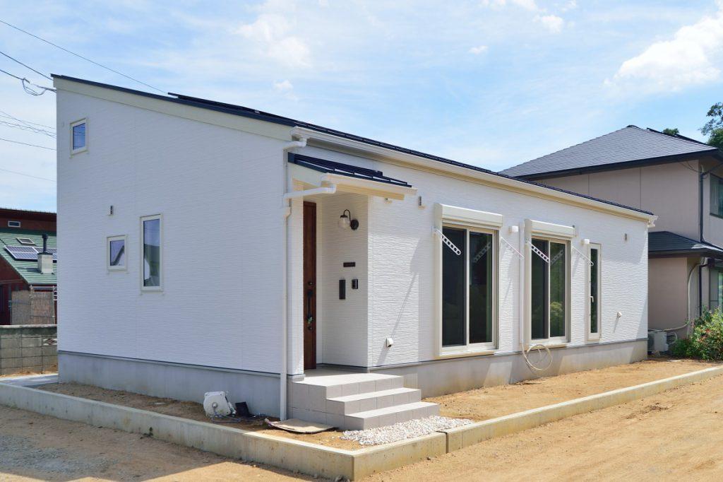 広々ロフトのある平屋のお家イメージ1
