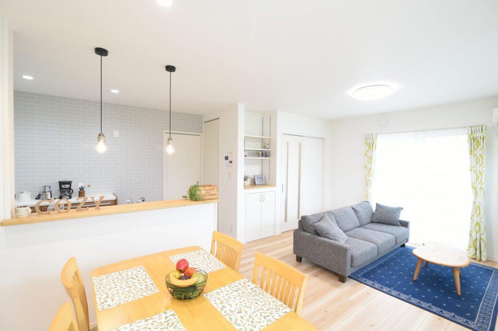 1階に独立した和室のある3LDKのお家イメージ2
