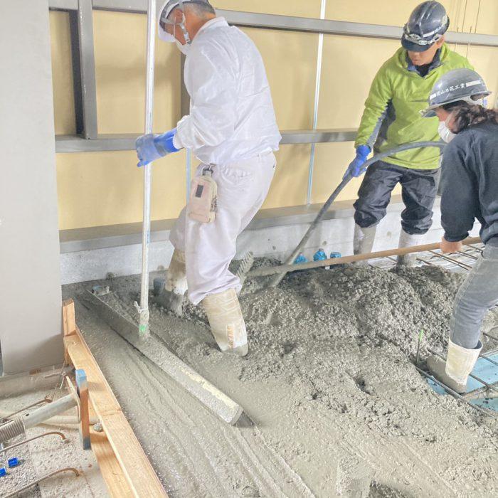 重松建設 土間コンクリート